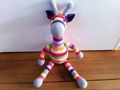 Giraffe gehaakt by Stef