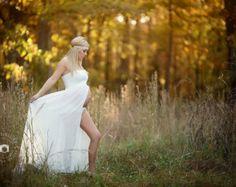 Vestido de maternidad / Kaleigh vestido / por SewTrendyAccessories