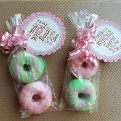 Donut Birthday Parties, Donut Party, Birthday Party Favors, Baby Birthday, Turtle Birthday, Turtle Party, Luau Party, Baby Shower Favors, Bridal Shower