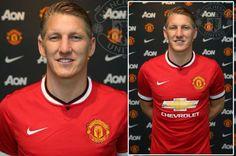Bastian Schweinsteiger signs for Manchester United