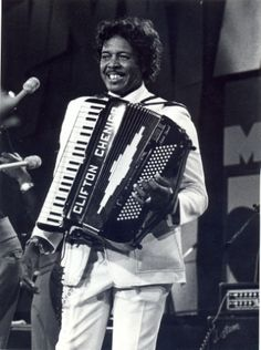 Clifton Chenier:  the original Zydeco King> History lesson for today.