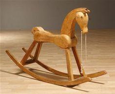 Gyngehest...cute rockin' horse.
