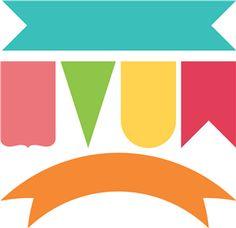83 best banner shapes images on pinterest bunting banner