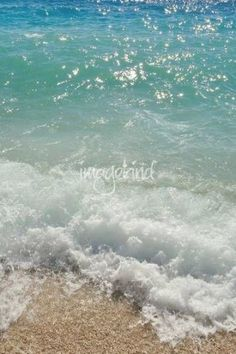 Waves on the beach. Podgora, Croatia by Creative Photography Waves On The Beach, Famous Places In France, Angeles, Beach Aesthetic, Tropical Beaches, Gardening, Island Beach, Buy Prints, Creative Photography