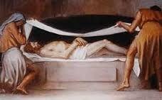 Resultado de imagen de jesucristo crucificado muerto y sepultado