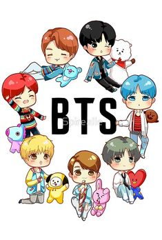 Time for some colabs! Stay tuned for more :) Bts Chibi, Bts Drawings, Kawaii Drawings, Foto Bts, Bts Bangtan Boy, Bts Jimin, Bts Lockscreen, I Love Bts, Bts Pictures