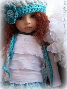 "Autumn Trendy Togs by M E G Designs for Dianna Effner 13"" Studio Dolls | eBay"