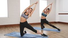 Take 10 to Tighten and Tone Your Waist With This Abs and Back Workout: Take 10 minutes to work your waist with one of our favorite trainers on YouTube, Rebecca-Louise.