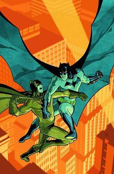 "ArtVerso — Cliff Chiang - Batman vs Catman in ""Secret Six"""
