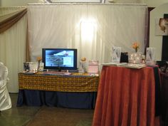10ft booth space
