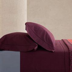Juego sábanas Bassols modelo Gathi en algodón 100% 200 hilo. Donde el descanso es un placer