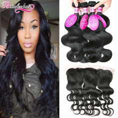 Cheap body wave with closure, Buy Quality wave with closure directly from China frontal closure with bundles Suppliers: Brazilian Body Wave With Closure 4 Bundles Body Wave With Frontal Closure Ear To Ear Lace Frontal Closure With Bundles Wavy Hair