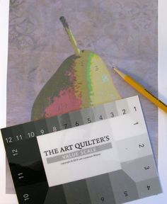 How to create a fabric collage art quilt from a photo - choosing color values for piece