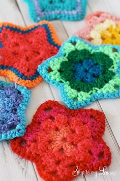 Crochet Granny Starts Michaels Dream Tree