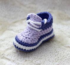 Crochet Baby Girl Booties Crochet Baby Girl Sneakers Crochet