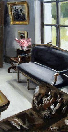 Christoff Debusschere (French painter, born oil on canvas. Interior Design Software, Life Paint, Grey Art, Z Arts, Palette, Built Environment, Interior Design Living Room, Inspiration, Furniture