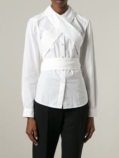 Marc By Marc Jacobs Crisscross Strap Detail Shirt - Jofré - Farfetch.com