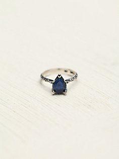 Tear Drop Stone Ring in accessories-fine-jewelry
