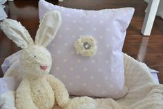 Minky Pillow Nursery Decor Baby Nursery Decor Nursery by LyLyRosee, $22.00
