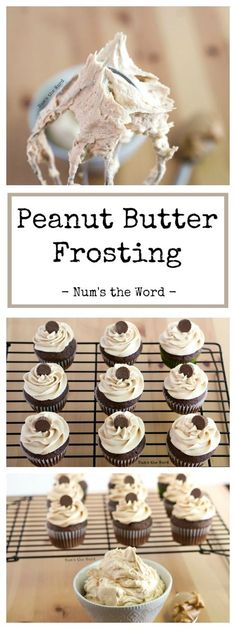Peanut Butter Frosting - NumsTheWord