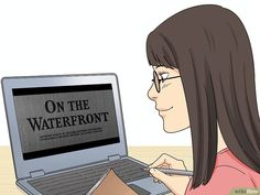 How to Analyze a Scene in a Film (with Pictures) - wikiHow