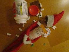 naughty-elf-on-the-shelf-innappropriate-drug-addict  How do the elves cope with all of the stress