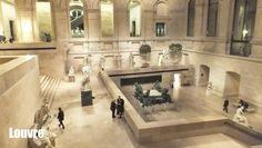 Patio de Estatuas,  Louvre, #Paris elisaserendipity.blogspot.com
