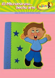Miss Dorita: Forro de Cuaderno niño
