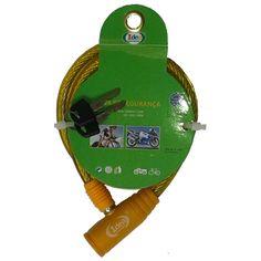 513845 CADEADO P/ BICICLETA E MOTO IDEA 0,65CM ID-1440T