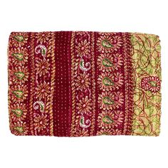 Vintage Throw Kantha Quilt Indian Handmade Bohemian Bed Throw