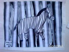traç vertical: la zebra
