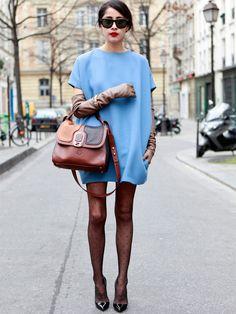 La robe bleu ciel