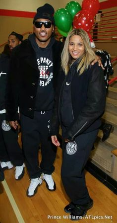Pregnant Ciara and boyfriend Future cant believe they are having a baby like wow