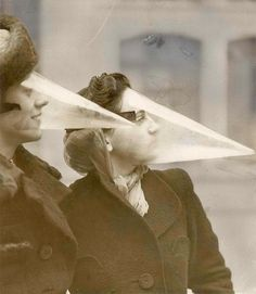 In 1939, a Montreal inventor decided that plastic beaks would make an effective snowstorm mask.