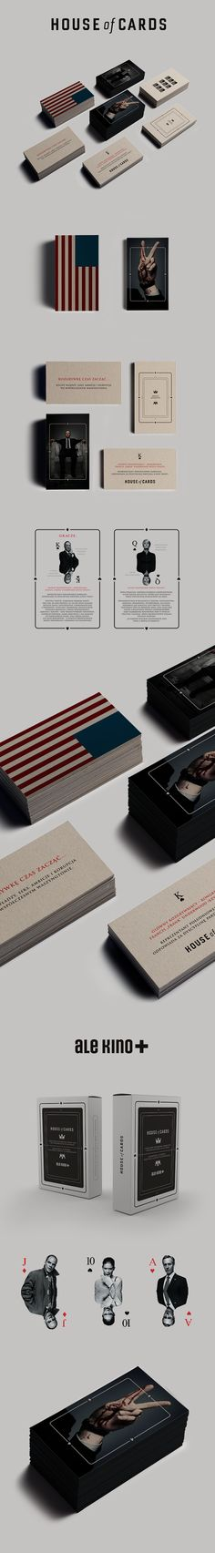 House of Cards / Ale Kino+ on Behance