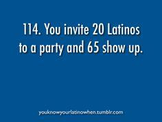 Latino problem #114 invitas 20 latinos y llegan 65