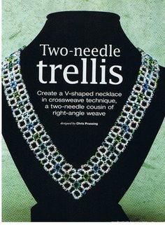 Схемы: Beads & Button- Right-Angle Weave. Часть 2