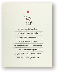 Always difficult to say goodbye to your best friend, we hope this card helps where it hurts. http://www.redoakpress.com/collections/dogs
