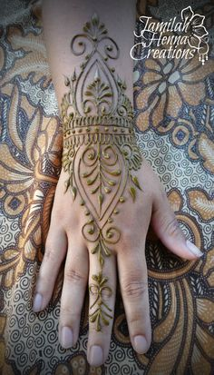 Festival henna design www.JamilahHennaCreations.com