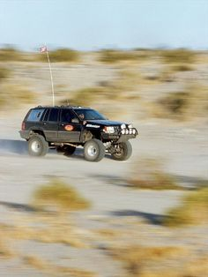 1994 Jeep Grand Cherokee (ZJ) Prerunner built by George Kane.