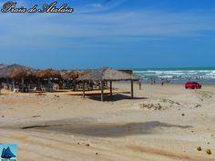 As praias de Luis Correia são as mais procuradas nos feriados e férias