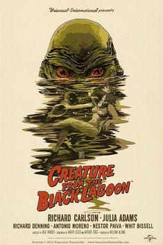 Creature From The Black Lagoon © Francesco Francavilla