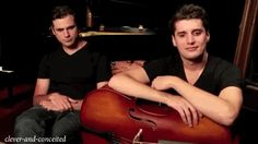 Here, have 2cellos giving you a double-take ;-) #2cellos #LukaSulic…
