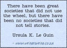 Quotable -Ursula K. Le Guin