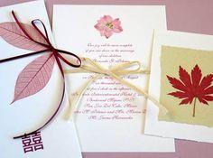 Diy wedding invitation idea