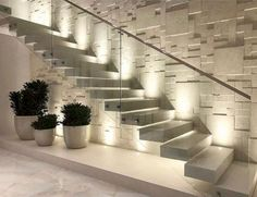 Interior design your home - 47 The Best Stairs Ideas To Interior Design Your Home – Interior design your home Interior Design Your Home, Home Stairs Design, Interior Stairs, Modern House Design, Interior Design Living Room, Stair Design, Stair Walls, Floating Staircase, Staircase Ideas