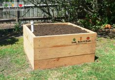We provide custom made, raised veggie gardens using cypress sleepers. Rot & termite resistant without treatment, they are the safest option for veggie gardens. Wicking Garden Bed, Wicking Beds, Fruit Garden, Edible Garden, Veggie Gardens, Potato Box, Growing Sweet Potatoes, Growing Raspberries