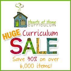 I'll be checking this out... Hearts at Home Curriculum Sale