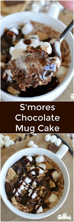 Chocolate Mug Cake is a one minute microwave dessert! A super easy recipe. Chocolate Mug Cake is a one minute microwave dessert! A super easy recipe. Mini Desserts, Easy Desserts, Delicious Desserts, Yummy Dessert Recipes, Dessert In A Mug, Oreo Dessert, Weight Watcher Desserts, Mug Cake Receta, Easy Cake Recipes
