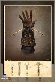 Assassin's Creed: Unity Phantom Blade concept art